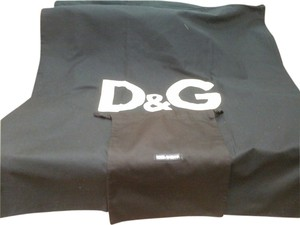 Dolce&Gabbana D&G extra large drawstring linen dust bag and one small.