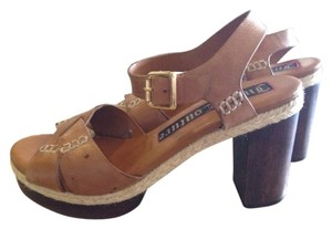 Juicy Couture Brown Mules