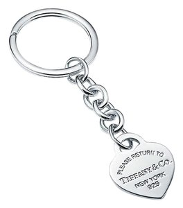 Tiffany & Co. Heart Tag Key Ring