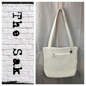 The Sak Tote in Cream