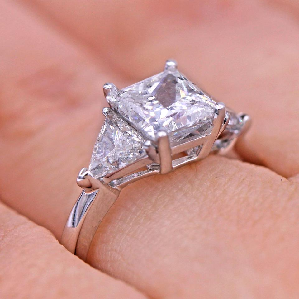 2.82 Cts Unique Design Diamond Engagement Ring - Tradesy