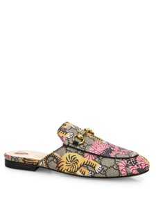 Gucci Loafer Limited Edition Print Multi Mules