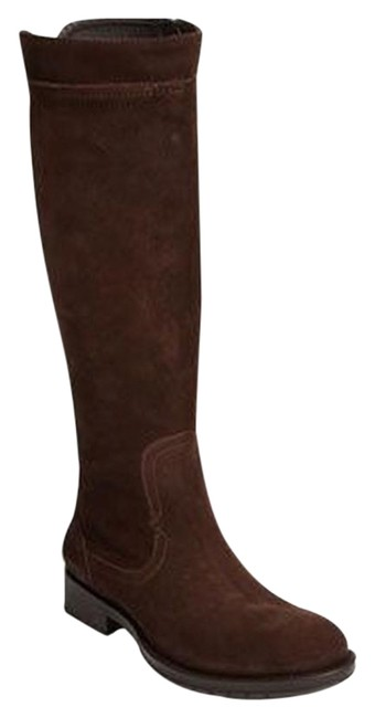 Item - Brown New Jella Suede Riding Boots/Booties Size US 6 Regular (M, B)