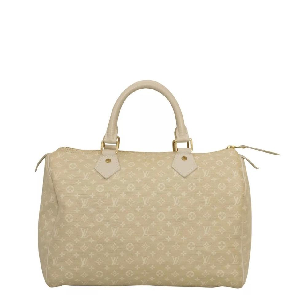 10fd314d9321 Louis Vuitton Handbag Speedy 30 Vintage Speedy 30 Lv Handbags Satchel in  cream Image 0 ...