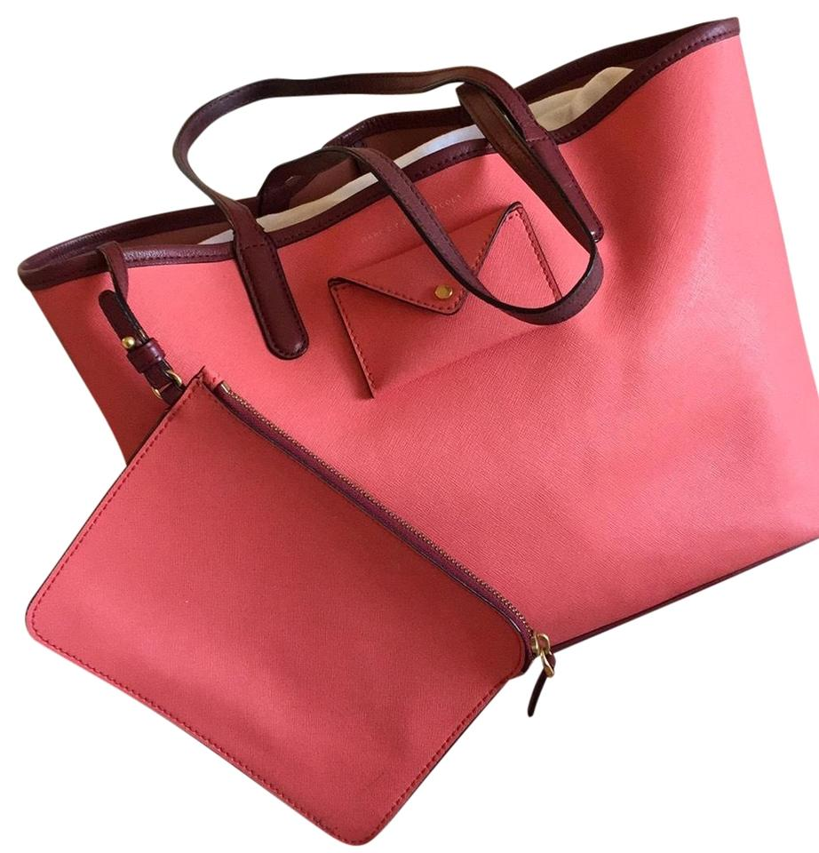 5ae3b52c34b4 Marc by Marc Jacobs Metropolitote Colorblocked 48 Shoulder Pink ...