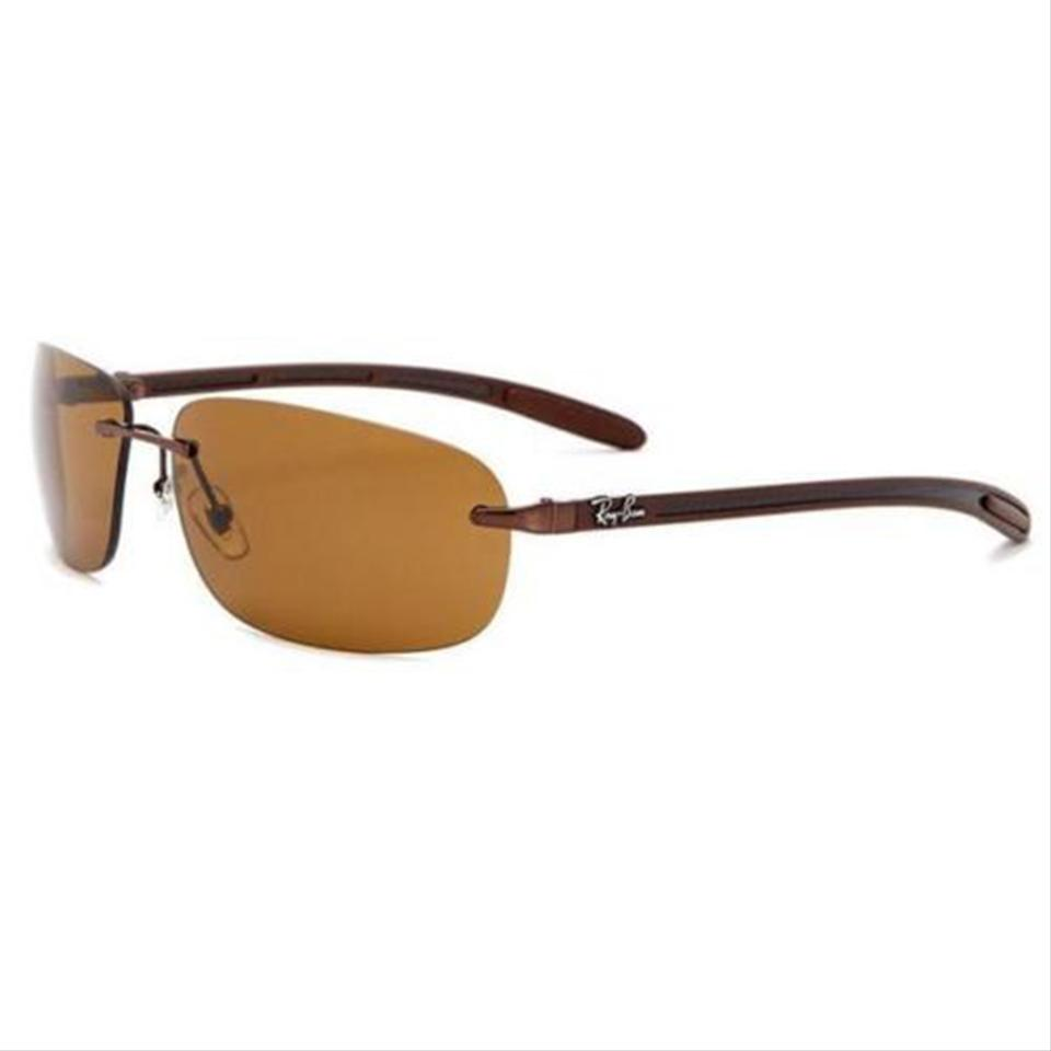 dc1de6606a Ray-Ban Ray Ban Men Sunglasses RB8303 014 83 Brown Frame Brown Polarized  Lens ...
