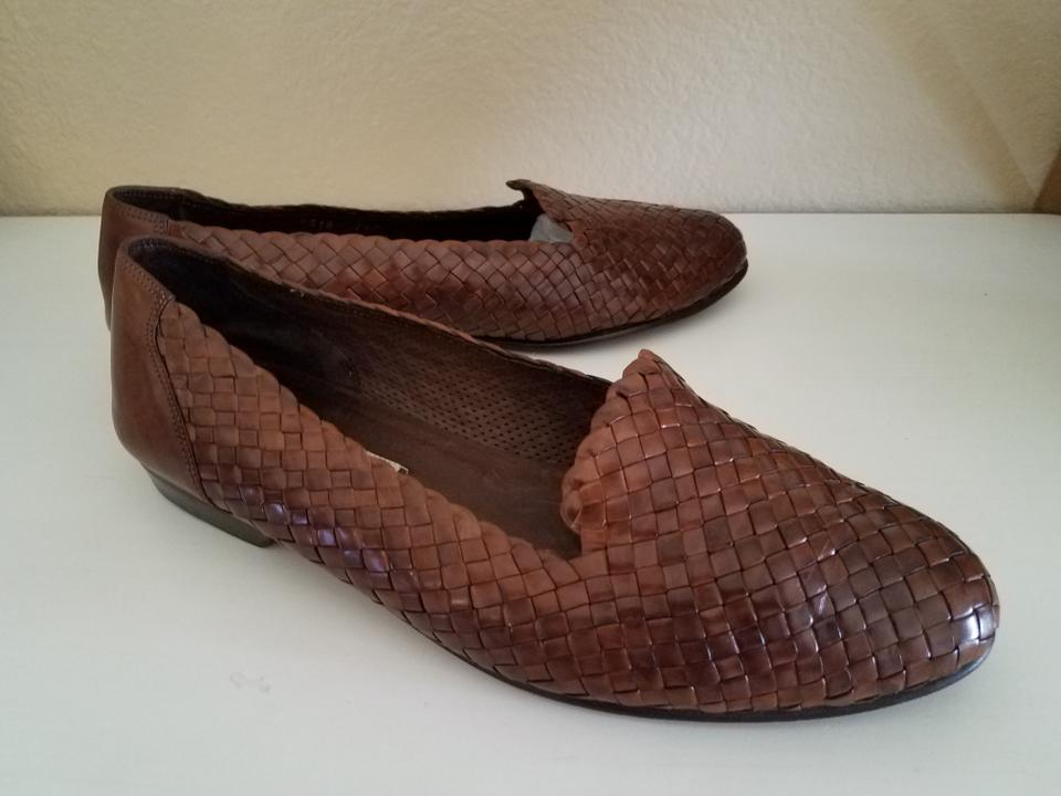 a76a21c7b1f8f Cole Haan Brown Bragano By Woven Weaved Loafers Formal Shoes Size US 7.5  Regular (M, B)
