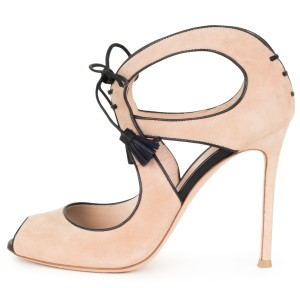 Gianvito Rossi tan Pumps