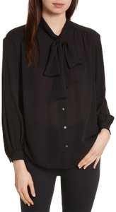 Joie Button Down Shirt Black