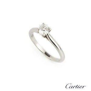 Cartier platinum solitaire 1895 engagement ring tradesy cartier platinum solitaire 1895 engagement ring junglespirit Gallery