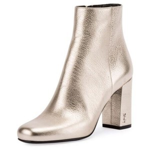 Saint Laurent Metallic Boots