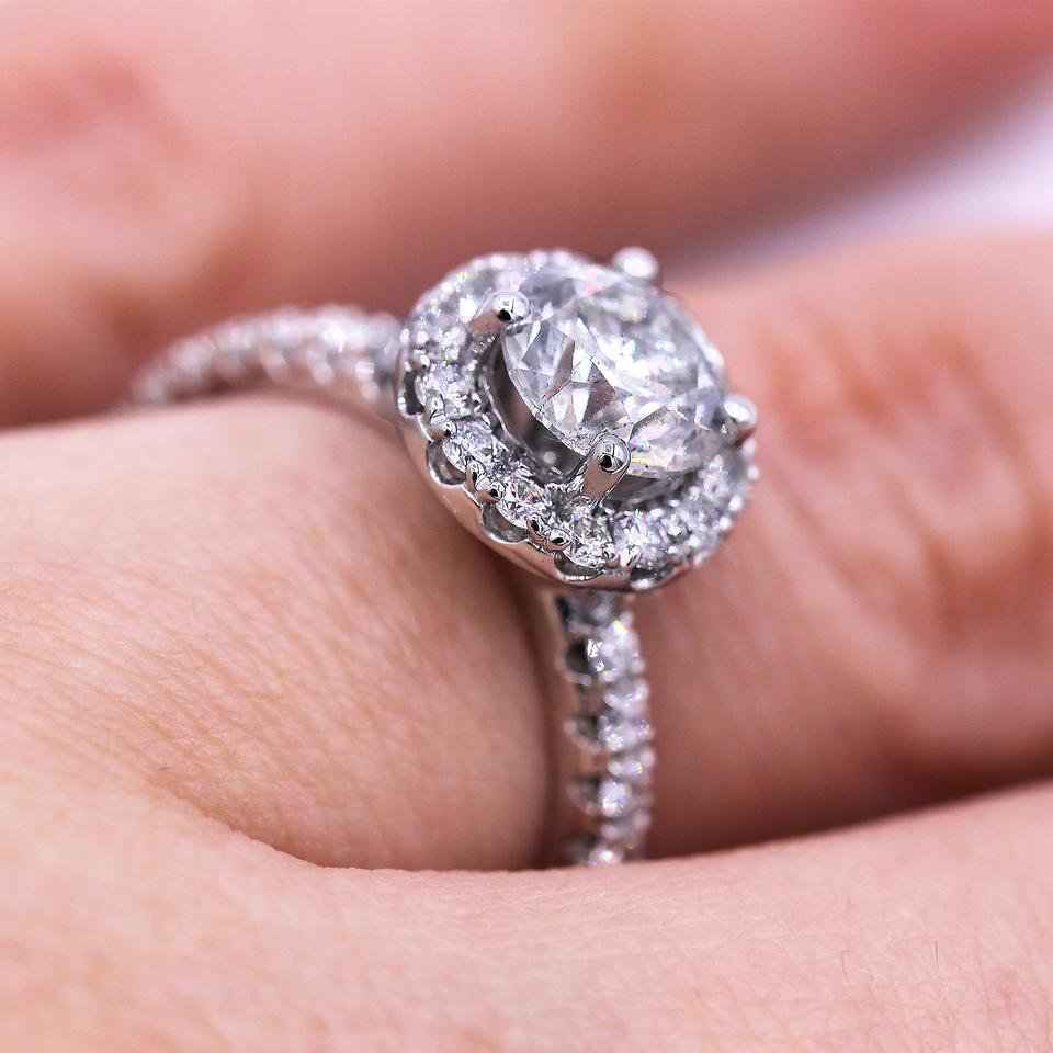 Dream Diamond with 1.84 Cts Round Diamonds Engagement Ring - Tradesy