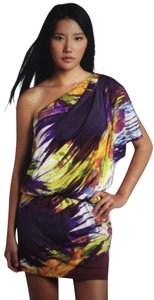Jessica Simpson One Shoulder Dryclean Only Dress