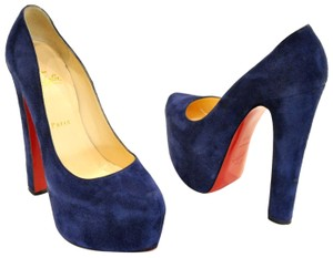 4c923acb7221 Women s Blue Christian Louboutin Shoes - Up to 90% off at Tradesy