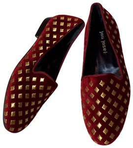 Jon Josef red Flats