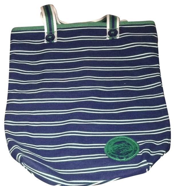 Item - Blue/Green Cotton Tote