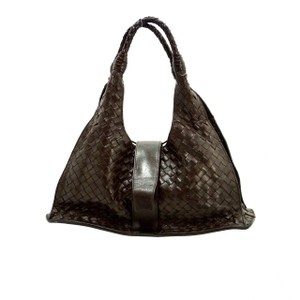 Bottega Veneta Woven Leather Unique Hobo Bag
