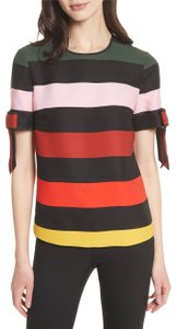 Ted Baker Top Black, Green, Pink, Red, Yellow