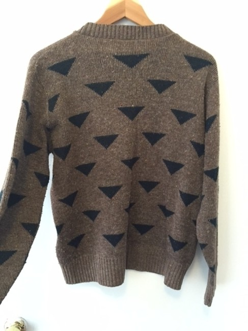 Lady Garland Vintage Geometric Pattern 70's 80's Made In The Usa Sweater