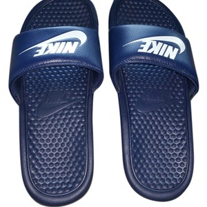 Nike men's Men's Navy size 7 Sandals