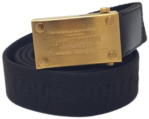 Louis Vuitton Brown canvas Louis Vuitton Bengale Surplus belt