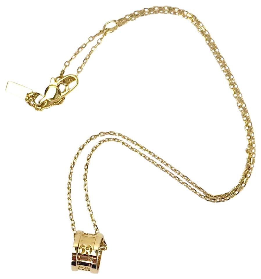 ef2b4ff3d Gucci 18K Yellow Gold Icon Pendant Necklace Image 0 ...
