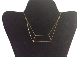 Limbo 18k gold limbo necklace