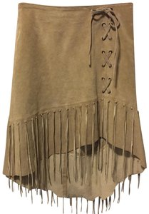 Wet Seal Skirt Taupe