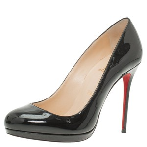 Christian Louboutin Neofilo Patent Leather Black Pumps