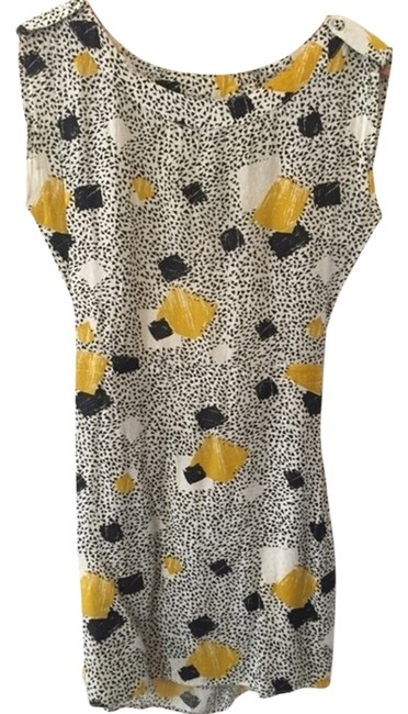 Preload https://item1.tradesy.com/images/miss-selfridge-dress-white-with-black-white-and-yellow-geometric-pattern-2297455-0-0.jpg?width=400&height=650