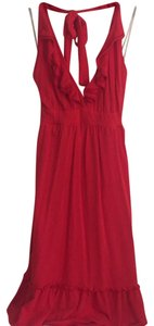 Forever short dress red on Tradesy