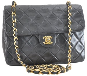 Chanel Vintage Lambskin Quilted Luxury European Cross Body Bag