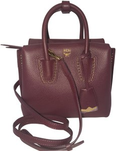 MCM Tote in rustic brown