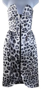 Thomas Wylde Leopard Scull Print Sleveless Size 6 Dress