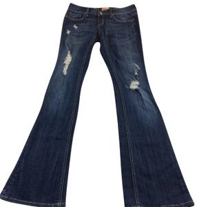 Arden B. Boot Cut Jeans-Distressed