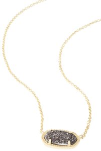 Kendra Scott Brand New Kendra Scott Elisa Necklace in Platinum Drusy GOLD