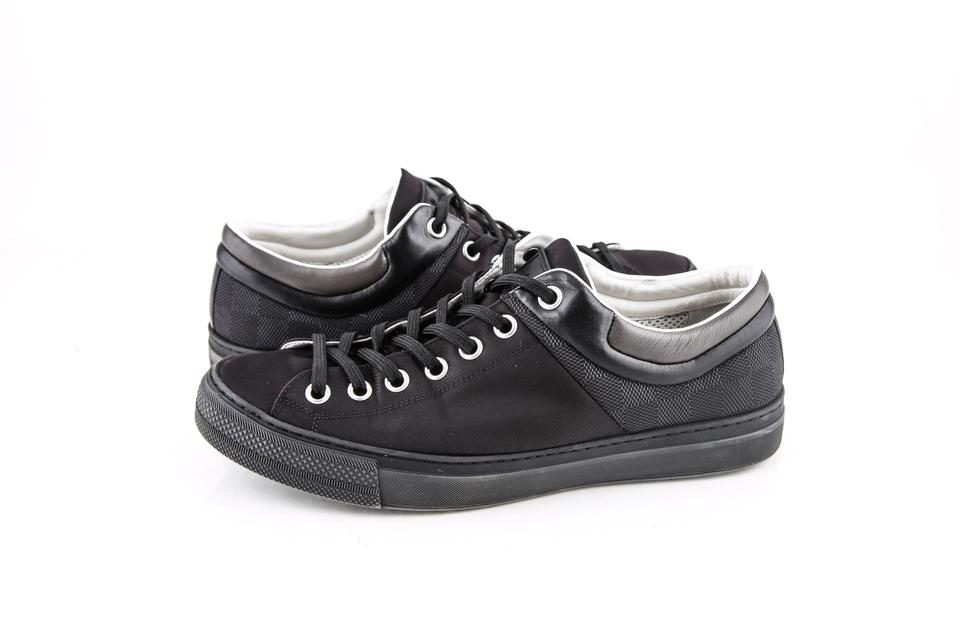 81deec105e71 Louis Vuitton   Black Sprinter Sneaker Shoes - Tradesy