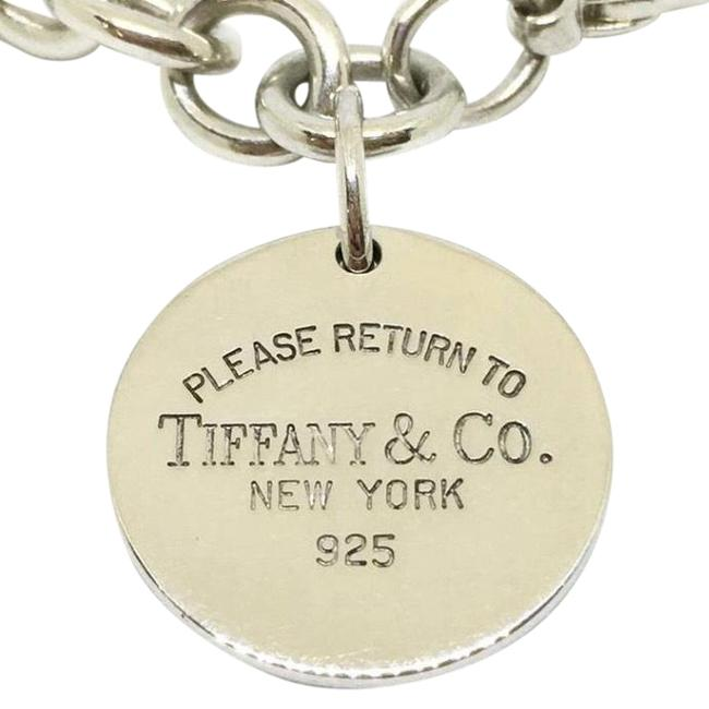 Tiffany & Co. Co Return To Circle Charm Bracelet Tiffany & Co. Co Return To Circle Charm Bracelet Image 1