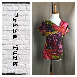 Trina Turk Top Multi Color