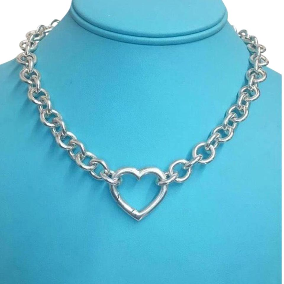 f0937945b5115 Co Heart Clasp Necklace
