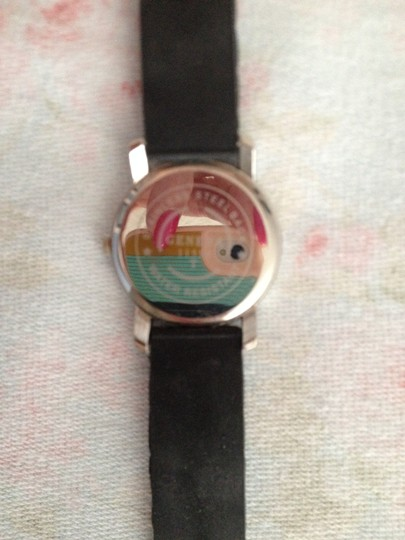 """Geneva Geneva Stainless Steel Watch, like new, worn once, Watch face is 1 3/8 wide and long. Band fits up to a 9"""" wrist!"""