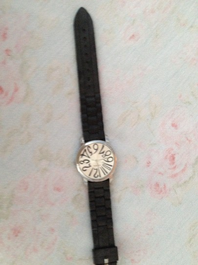 "Geneva Geneva Stainless Steel Watch, like new, worn once, Watch face is 1 3/8 wide and long. Band fits up to a 9"" wrist!"