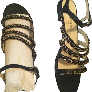 624b6cce2f6f Chanel Sandals on Sale - Up to 70% off at Tradesy