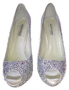Benjamin Adams white crystal Platforms