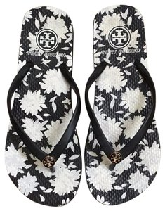 Tory Burch Black-Orchard Combo Sandals