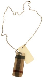 Burberry Burberry dog tags