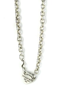 Tiffany & Co. Tiffany & Co Heart Tag Toggle Circle Chain Silver Necklace