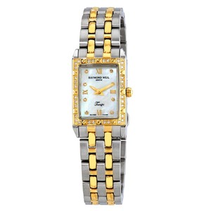 Raymond Weil Swiss Made Stainless Steel Mother of Pearl Dial Tango Ladies Watch