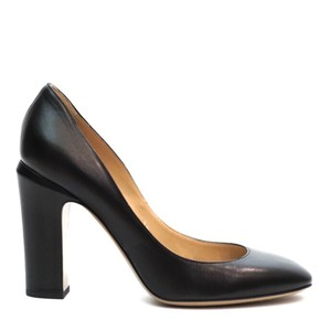 Valentino Mary Jane Heels Black Pumps