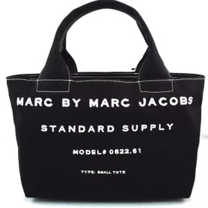 Marc by Marc Jacobs Canvas Small Standard Supply Tote in Black